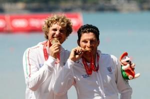 Fame di medaglie per Fossi e Battisti