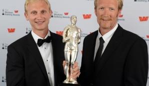 Le due star del canottaggio neozelandese: Bond e Murray