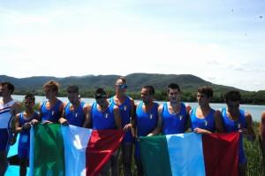 L'otto alla Coupe 2012 (foto Sala)