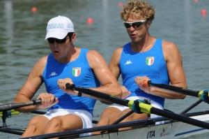 Fossi e Battisti: il doppio maschile è la sesta barca olimpica azzurra in finale