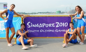 Colombo, Di Costanzo, Nannini e Coletti a Singapore 2010