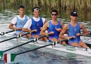 Venier, Frattini, Stefanini e Miani iridati a Trakai 2002
