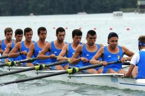 L'otto maschile parte con il piede giusto.