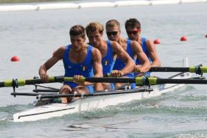 Il quattro con, a Trakai è già in finale