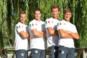 Quattro di coppia maschile alla ricerca della semifinale