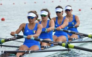 Il quattro senza femminile domina il recupero e vola in finale!