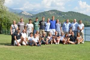 I nuovi collegiali con le loro famiglie (foto Mimmo Perna)