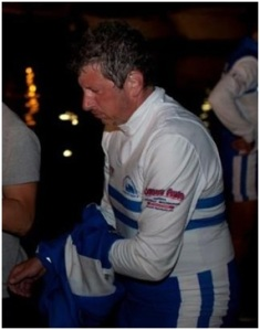 Stefano Bellio e gli effetti traumatici dopo 160 km di voga