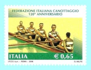 Il francobollo per i primi 120 anni della FIC. Per i 125... niente!