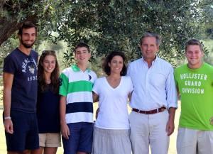 Con la famiglia