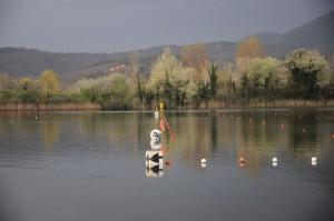L'arrivo di Piediluco (foto Artegiani)
