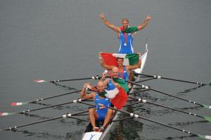A Pechino 2008 con Raineri, Galtarossa e Venier