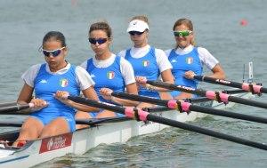 Il 4 di coppia PL femminile a Varese 2014