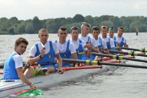 L'otto Junior terzo in Germania