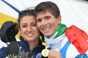 Marcello Miani e la moglie Irene