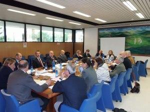 Una riunione del Consiglio Federale nella primavera 2014 a Roma