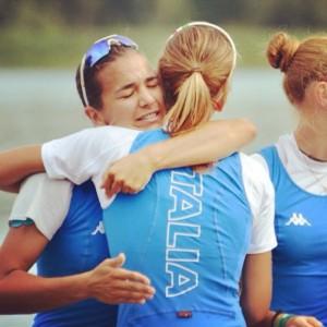 L'abbraccio tra Giorgia e Serena Lo Bue