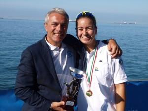 Gianni Verrone ed Elena Waiglein