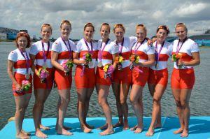 L'otto femminile del Canada argento a Londra 2012