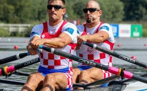 I campioni mondiali del doppio Martin e Valent Sinkovic