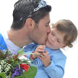 Romano Battisti e sua figlia Lavinia