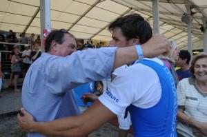Con papà Antonio