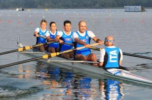 Il 4 con azzurro a Varese (foto Claudio Cecchin)