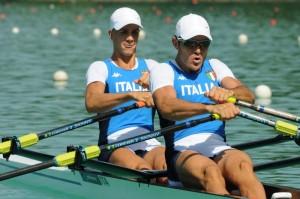 Il doppio Gentili-Battisti (foto Perna)
