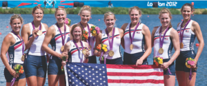 L'otto femminile americano campione olimpico a Londra 2012