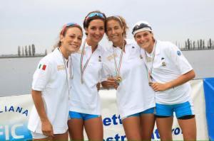 Alessandra nel settembre 2015, campionessa d'Italia societaria con il Murcarolo