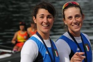 Sara Bertolasi e Alessandra Patelli dopo la qualificazione