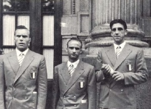Il 2 con medagliato a Londra 1948