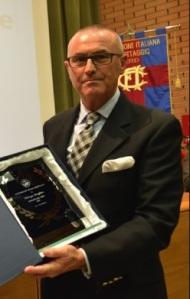 Fabrizio Quaglino (miglior dirigente FIC 2015)