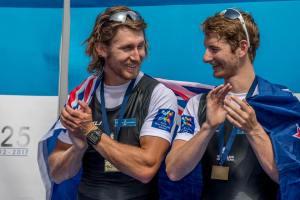 Il nuovo 2 senza della Nuova Zelanda (foto RowingNZ)